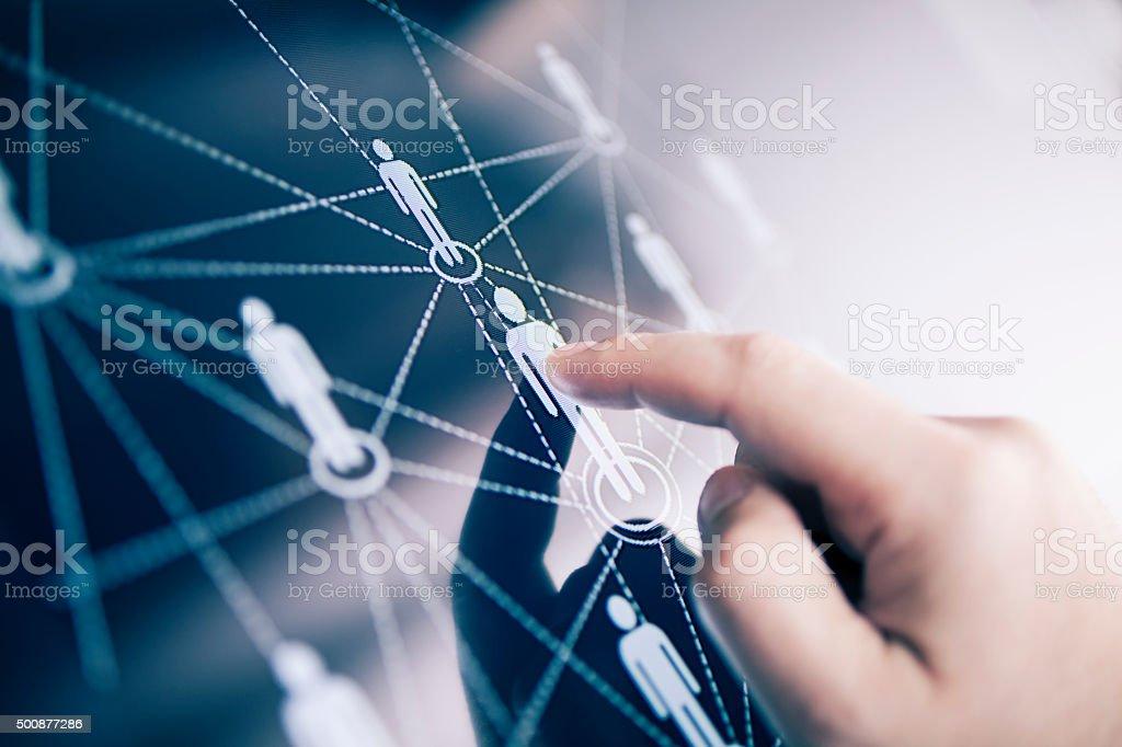 Social-media-Konzept Lizenzfreies stock-foto