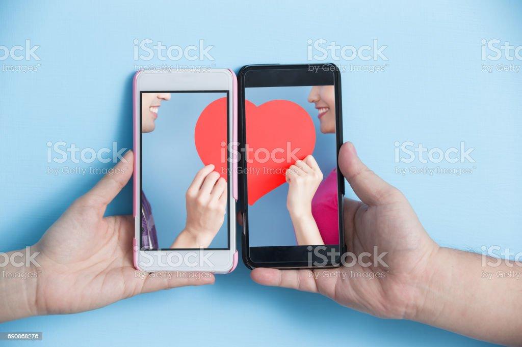 sociala medier koncept bildbanksfoto
