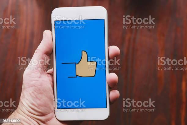 Foto de Conceito De Mídia Social e mais fotos de stock de Acordo