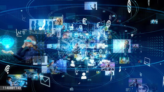 913588258 istock photo Social media concept. Social networking service. Streaming service. 1140691143