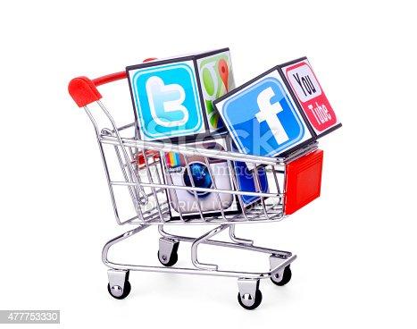 istock Social media icons 477753330