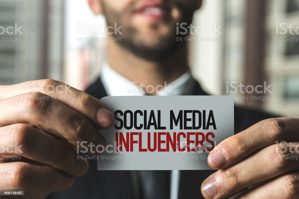 Social Media Influencers stock photo