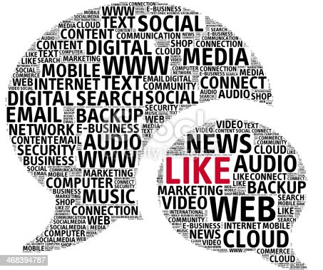 491520835 istock photo Social Media Internet Messages Speech Bubble 468394787