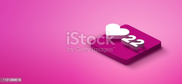 1155191162istockphoto 3D social media like icon 1151369516