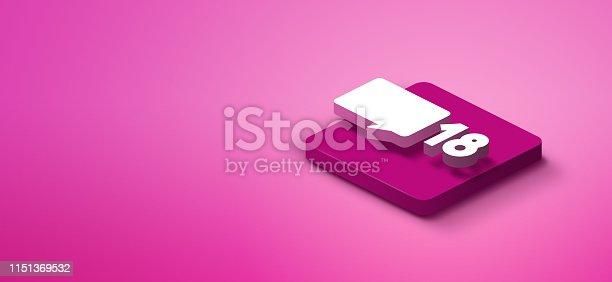 1155191162istockphoto 3D social media like icon 1151369532