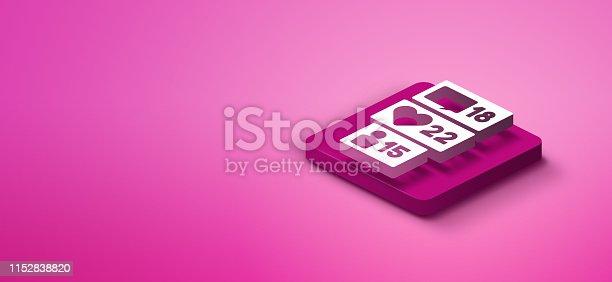 1155191162istockphoto 3D social media like icon 1152838820
