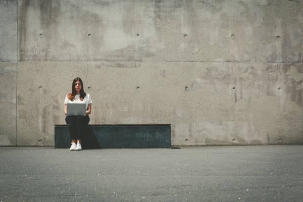 Social-Media-Einsamkeit – Foto