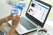 istock Social media 1201792304