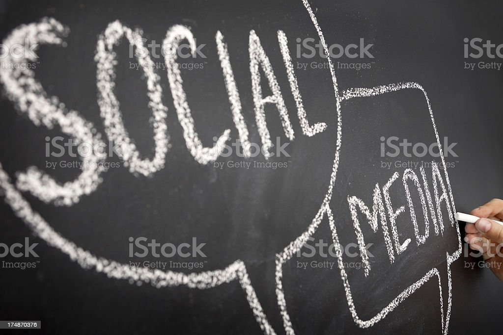 Social Medien - Lizenzfrei Brainstorming Stock-Foto