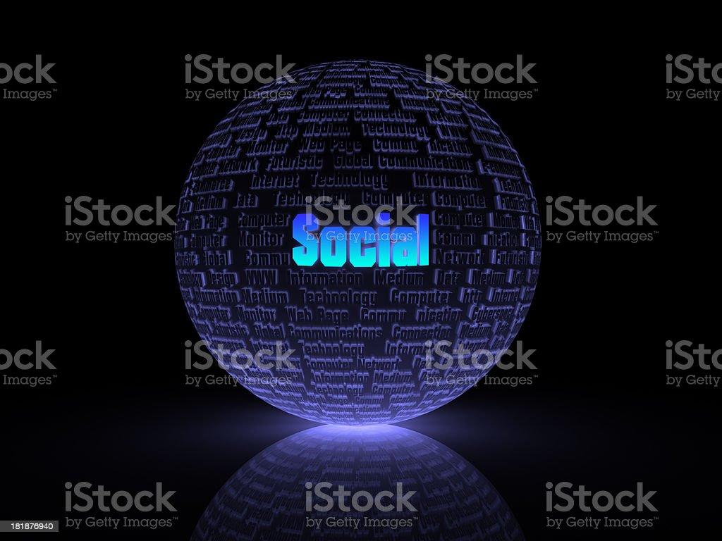 social media royalty-free stock photo