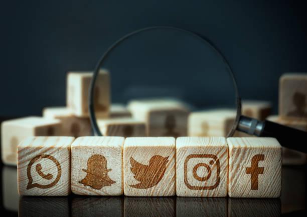 social media - brand name zdjęcia i obrazy z banku zdjęć