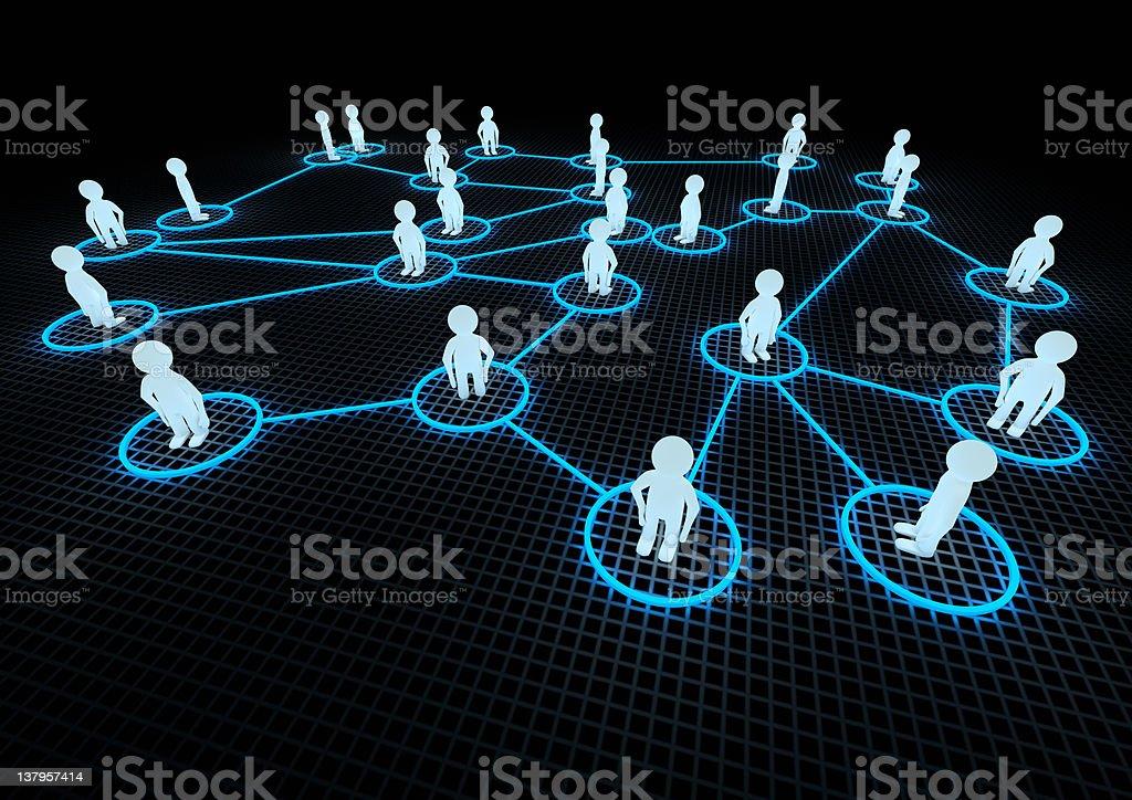 Soziales Netzwerk Konzept – Foto