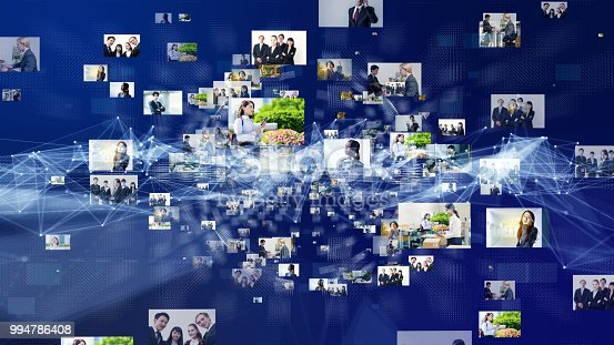 913589004istockphoto Social network concept. Video streaming service. 994786408