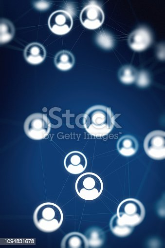698608384 istock photo Social Network Connections Backgrounds 1094831678