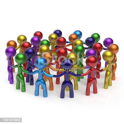 688200936istockphoto Social network crowd circle worldwide large group people flash mob icon 1051679302