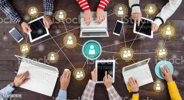 Photo of Social Network Online Sharing Connection Concept