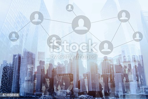 811259350istockphoto social network or business connections concept 874656908