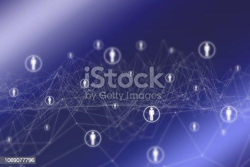 istock Social Network 1069077796