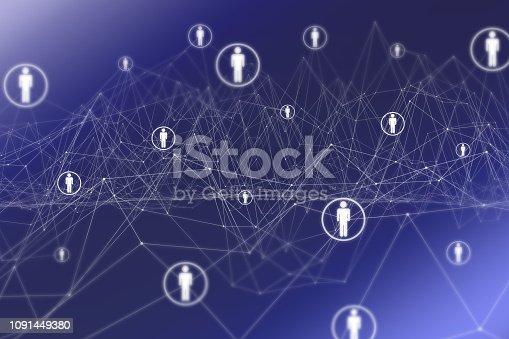 istock Social Network 1091449380