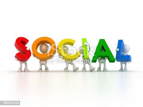 istock social network 184344754
