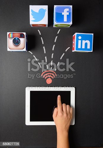 535970955 istock photo Social network services 530627725