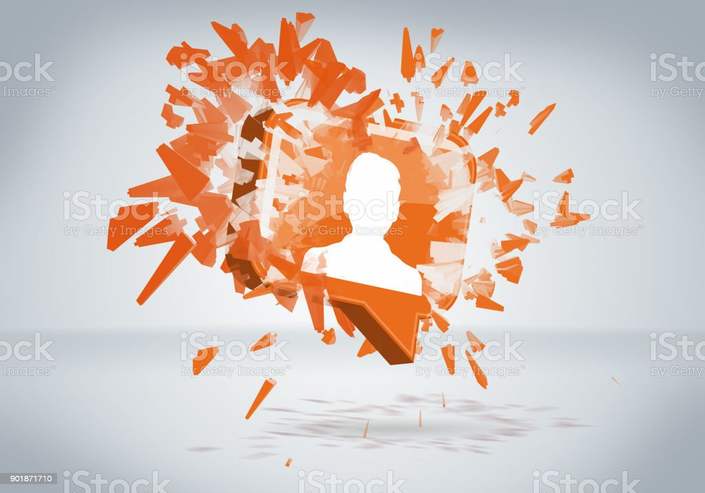 Social Network Social Media Business People Global Concept stock photo