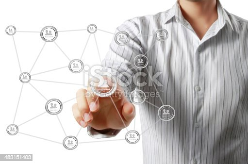 522382893istockphoto social network structure 483151403