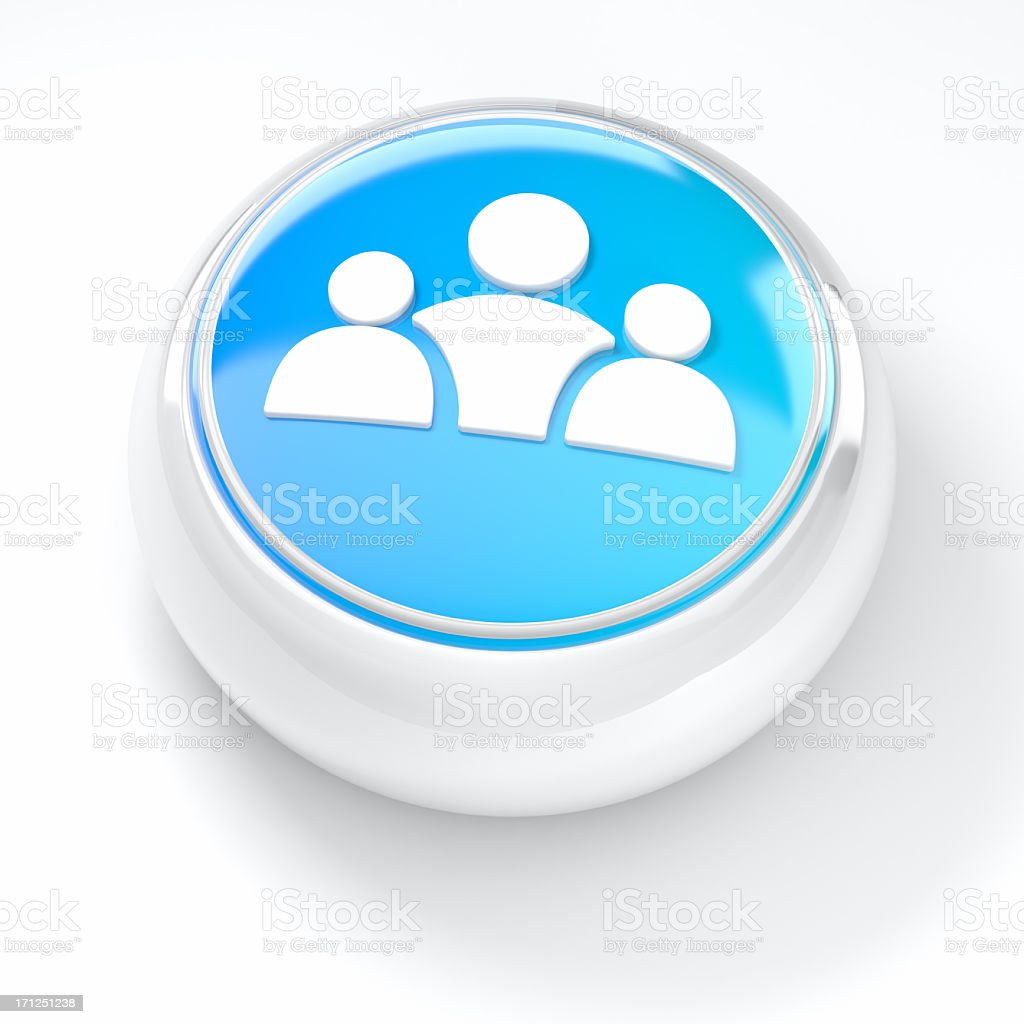 Social Network Users icons royalty-free stock photo