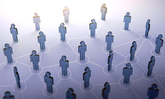 istock Social network,3d illustration 958465448