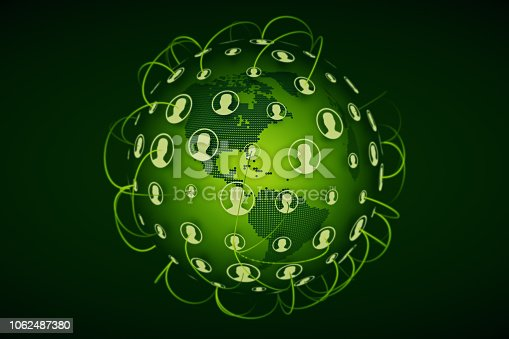 istock Social Networking background 1062487380
