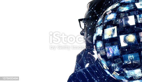 913588258 istock photo Social networking concept. 1079450494