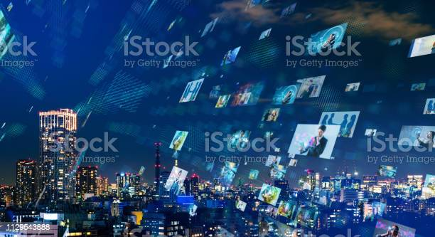 Social Networking Concept Stock Photo - Download Image Now