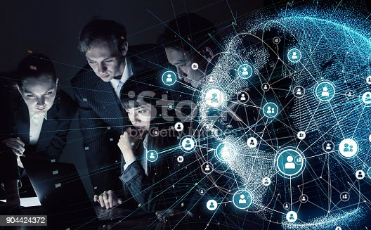 913588258 istock photo Social networking concept. 904424372