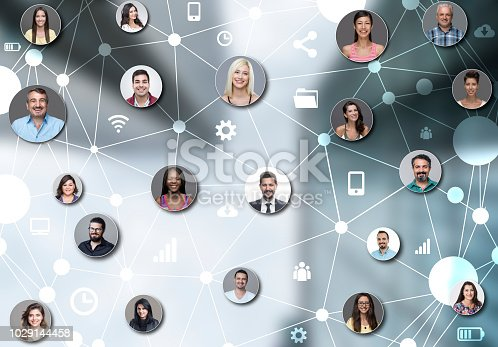 Social networking, Group of people