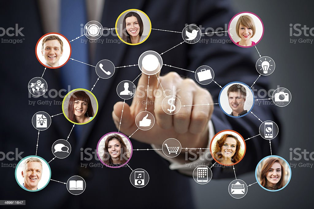 Soziale networking – Foto