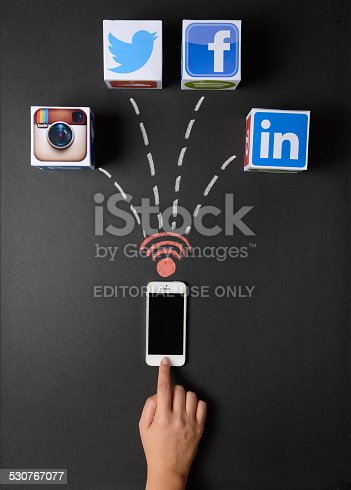 535970955 istock photo Social networking 530767077