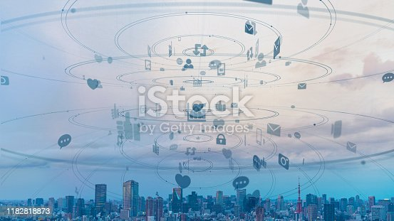 494924670 istock photo Social networking service concept. communication network. 1182818873