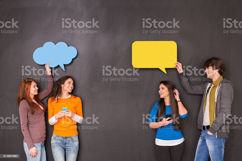 Social Netwroking stock photo