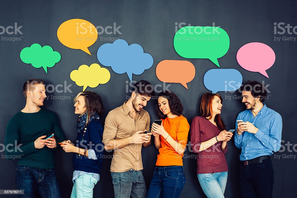 Social Netwroking stock photo