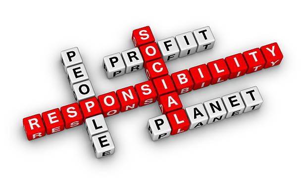 social responsibility stock photo