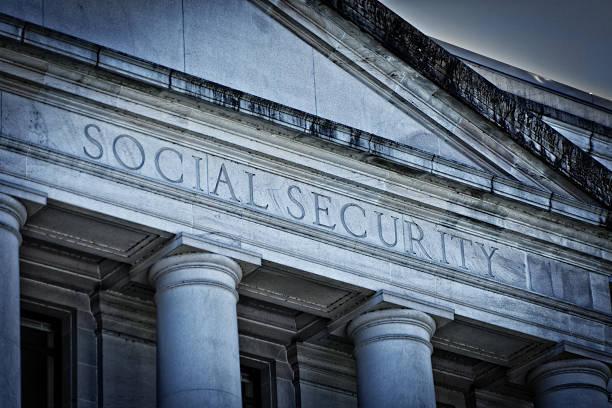 social security agency government building sign - previdencia social - fotografias e filmes do acervo