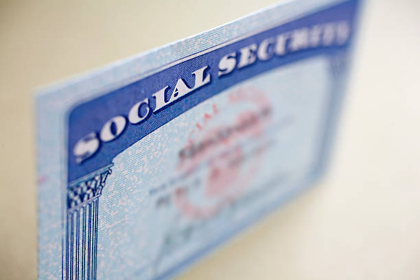 Social Security Card  social security stock pictures, royalty-free photos & images