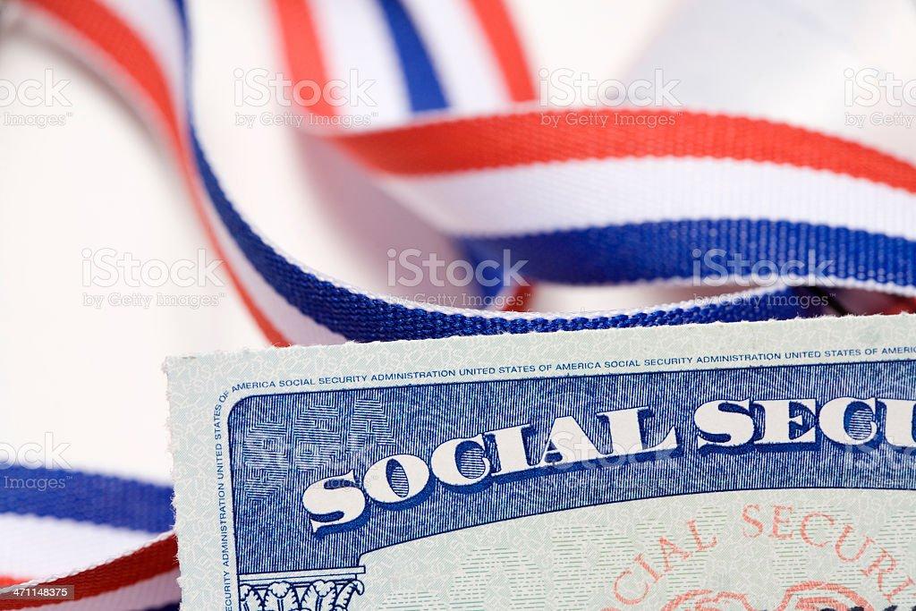 Social Security in America stock photo