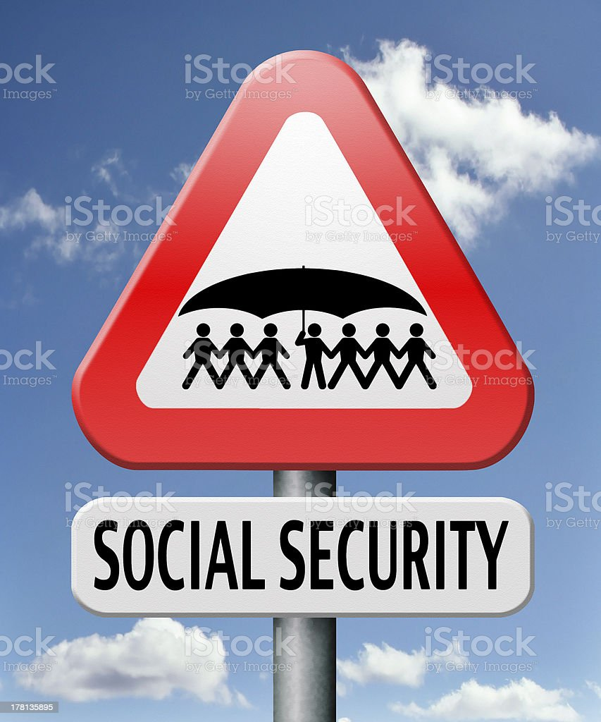 social security stock photo