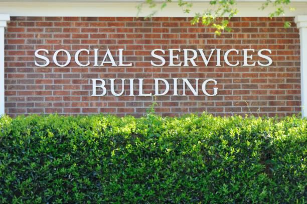 Social Services Building stock photo