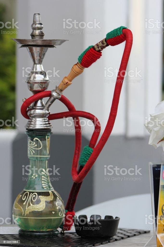 Social Smoke Hookah stock photo