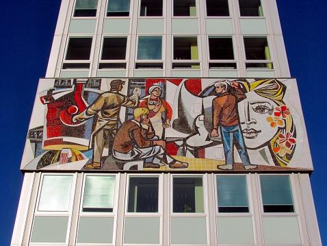 Sozialistischen Kunst In Berlin Stockfoto und mehr Bilder von 2015