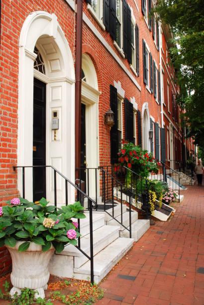 Society Hill, Philadelphia stock photo