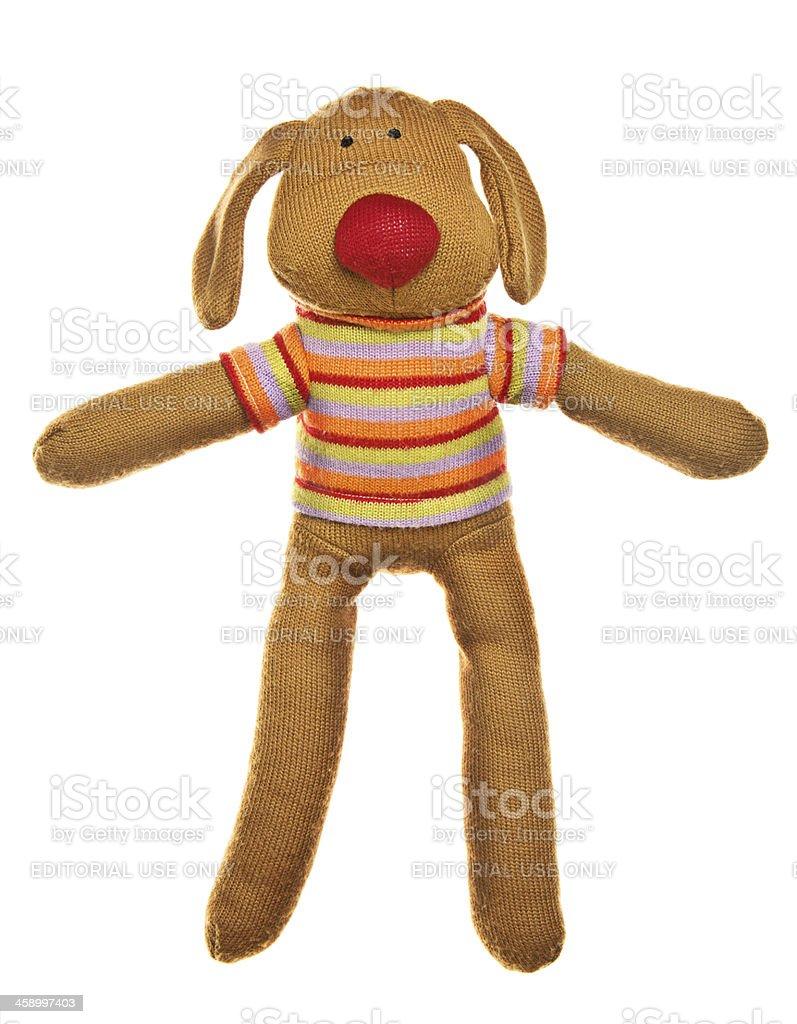 Sock Dog Toy royalty-free stock photo