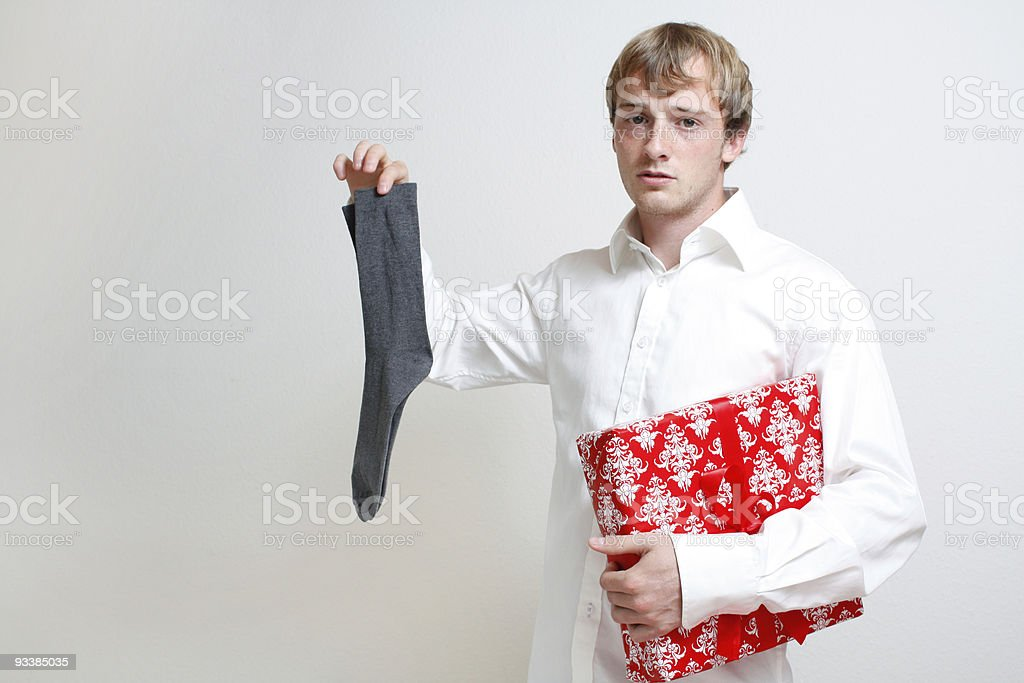 Sock for christmas stock photo